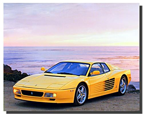 Ferrari Testarossa Car Posters