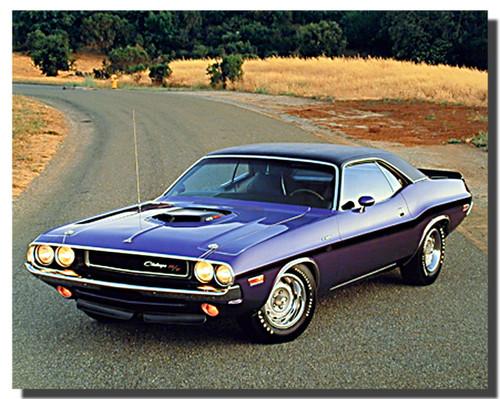 1970 Hemi Challenger Car Posters