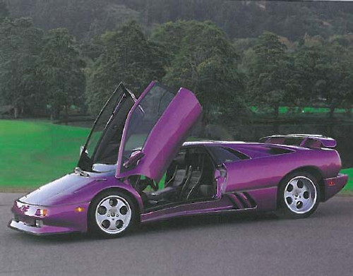 Lamborghini 1994 Automobile Car Posters