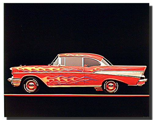 1957 Chevy Bel Air Model Car Posters
