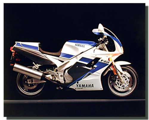 Yamaha FZR Exup Motorcycle Posters