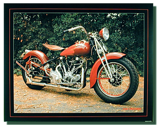 Crocker Motorcycle Posters