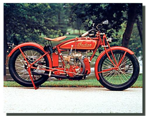 Vintage Indian Motorcycle Posters