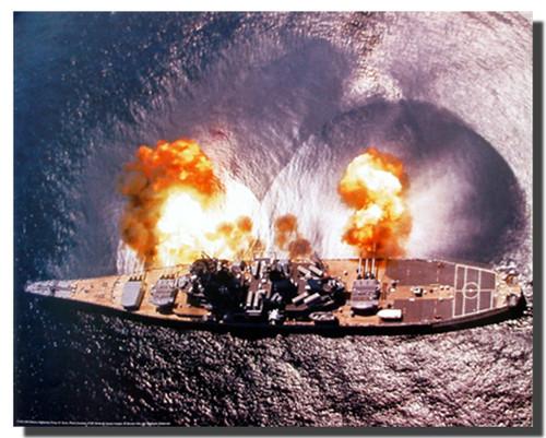 USS Missouri Battleship Poster