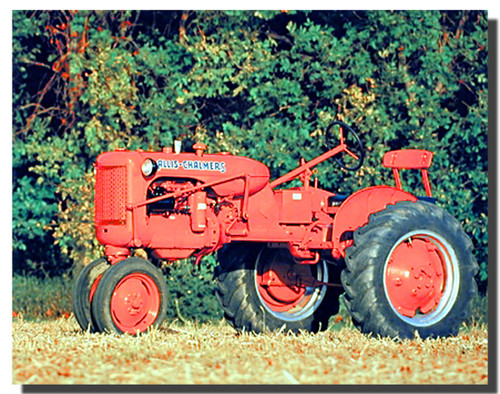 Allis Chalmers C Tractor Poster