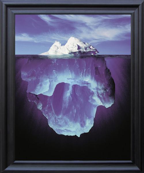 Perception Motivational Wall Décor Black Framed Art Print Poster (19x23)