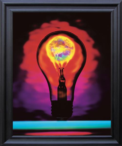 Idea Inspirational & Motivational Wall Décor Black Framed Art Print Poster (19x23)