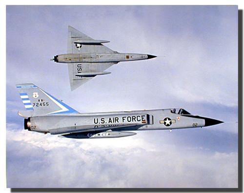 USAF f 106 fighter jets Poster