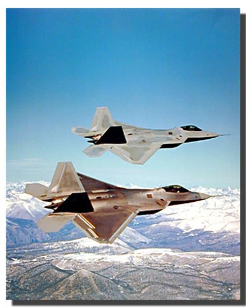 F-22 Raptor Jets Poster