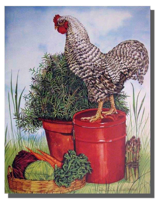 Kitchen Poster—Rooster Poster