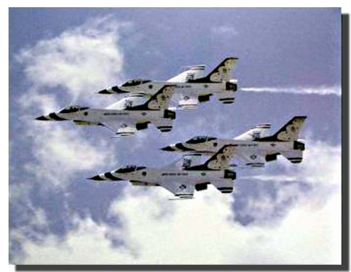 Thunderbirds Airplanes Poster
