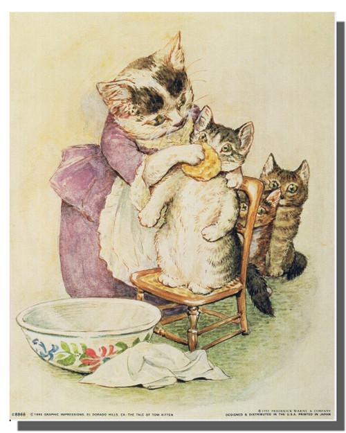 Beatrix Potter Poster—The Tale of Tom Kitten