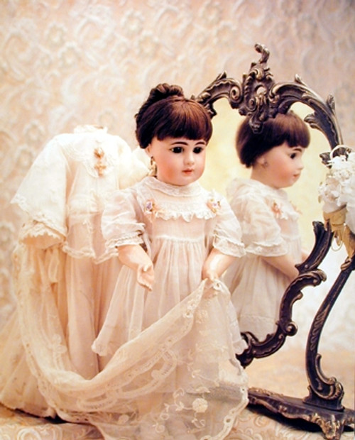 Doll and Mirror Kids Bedroom Decor for Girls‎ Art Print Poster (16x20)