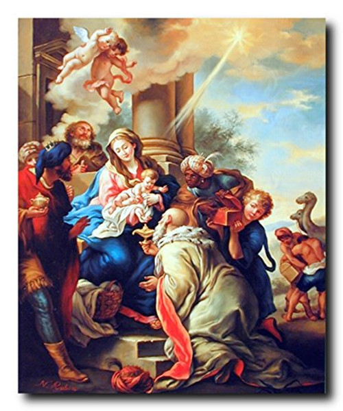 Mary with Child Ruben Religious Christian Wall Decor Art Print Poster (16x20)