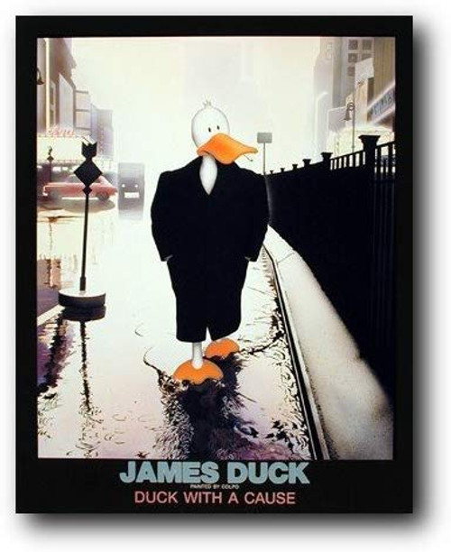 James Duck Poster and Art Print