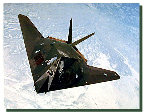 F117A Stealth Fighter Poster