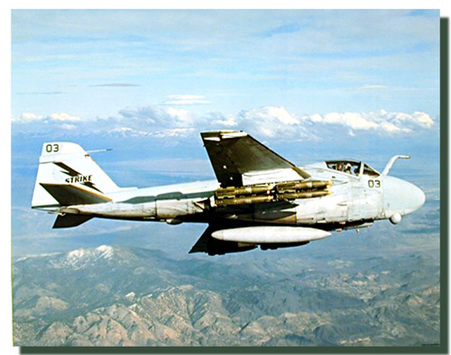 A-6E Intruder George Hall Poster