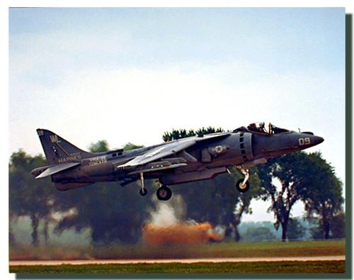 AV-8 Harrier Jet Poster