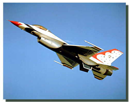 Thunderbird Airplane Poster