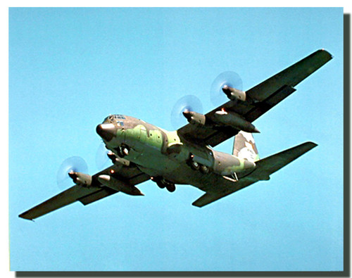 C-130 Airplane Poster