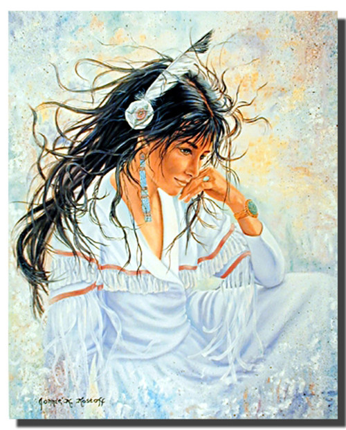 Indian Maiden Art Posters