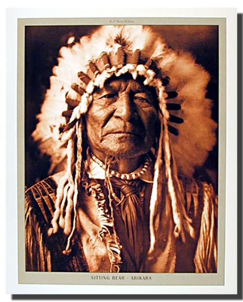 Sitting Bear Arikara Edward Posters