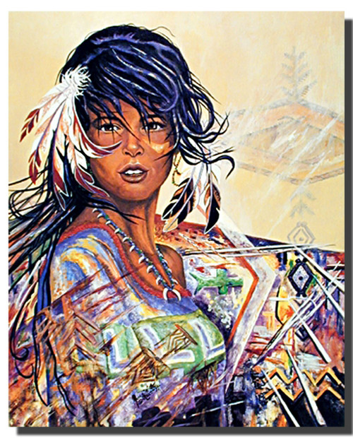Indian Maiden Jonnie Kostoff Posters