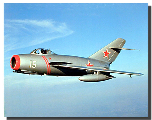 MIG 15 Russian Jet Poster