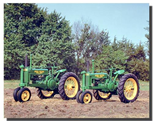 Farm Tractors Poster