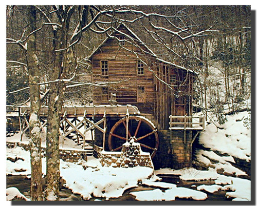 Glade Creek Mill Picture