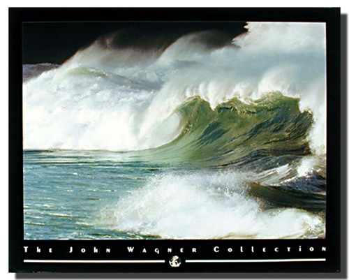 Coastal Moods Crashing Wave Art Print