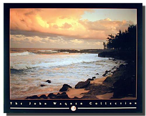Coastal Mood Sunset Print
