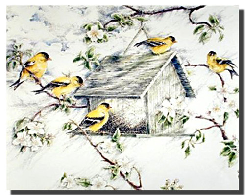 Goldfinches Posters