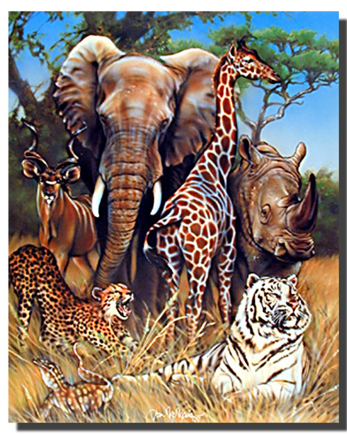 Exotic Wildlife Poster