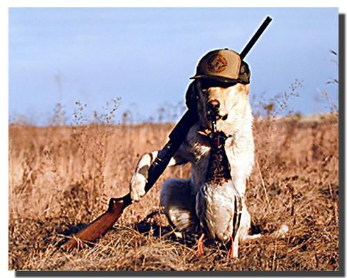 Dog Gone Hunting Poster