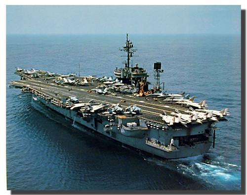 Aircraft Carrier USS Constellation Poster