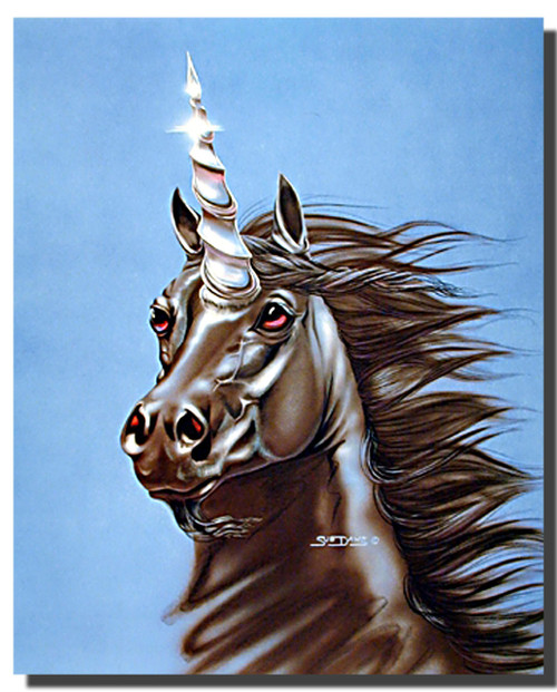Unicorn Poster- Scenting the Wind