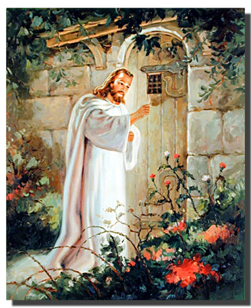 Christ at the Door Posters