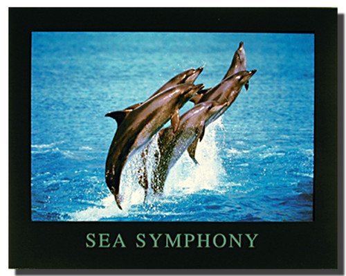 Sea Symphony Print Poster
