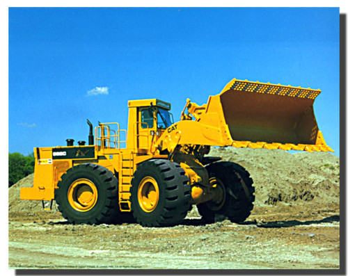 Caterpillar 992C Front Wheel Loader Poster