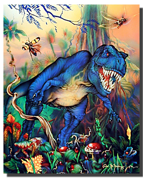 T-Rex Fantasy Posters