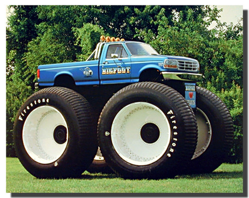 1993 Ford Racing Bigfoot Monster Truck Posters