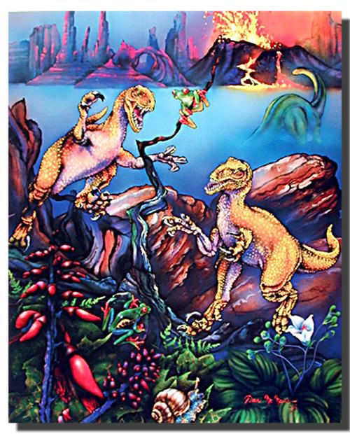 Raptors Poster- Fantasy
