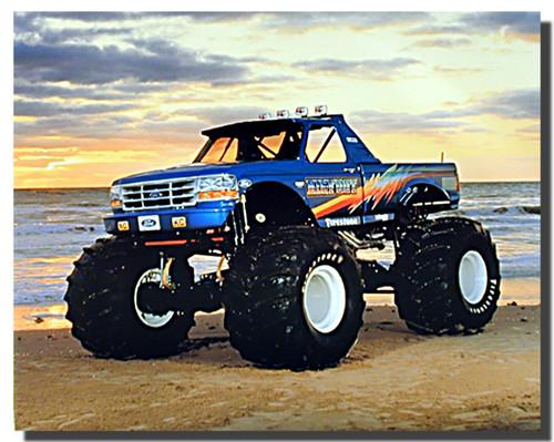 Bigfoot Monster Truck Posters