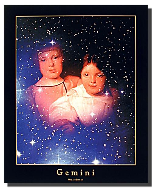 Zodiac Gemini Poster