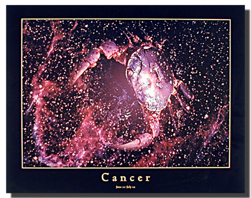 Cancer Sign Poster
