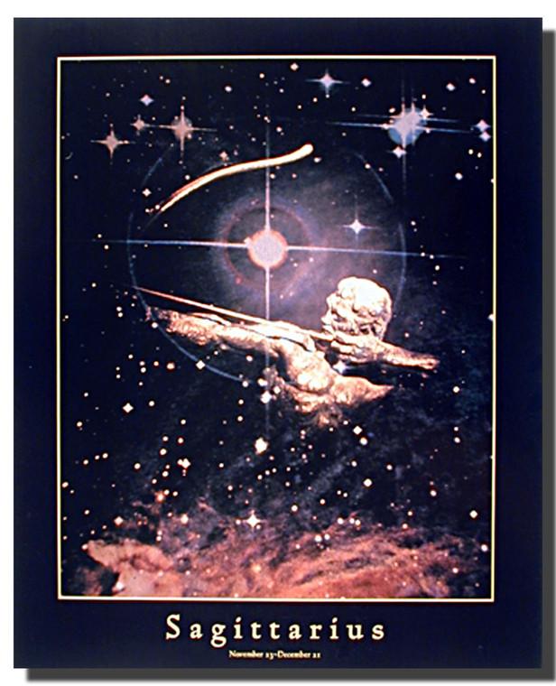 Sagittarius Sun Sign Poster