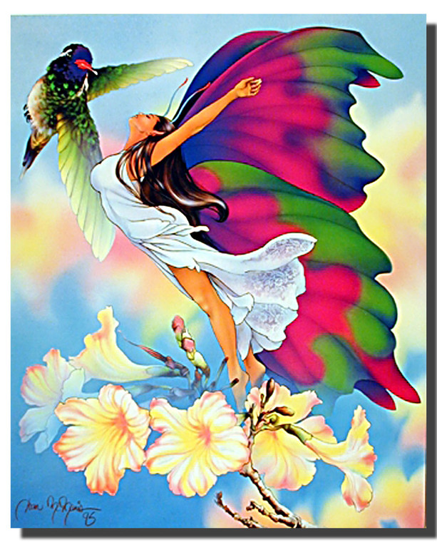 butterfly maiden Posters