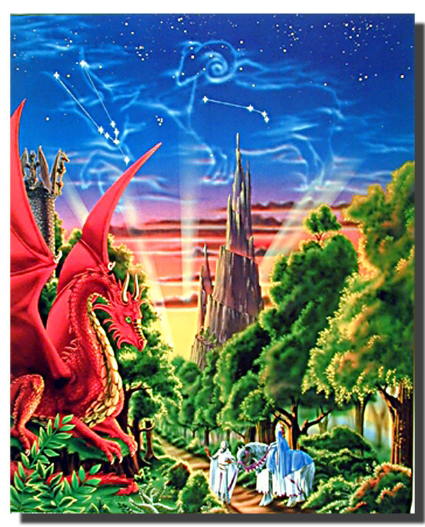 Dragon Mountain Posters