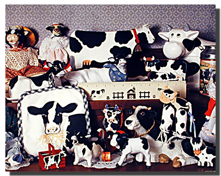 Cow Collection Poster
